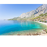 Mediterranean sea, Bay, Adriatic coast