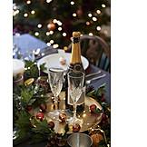 Sparkling, Festive, Christmas dinner