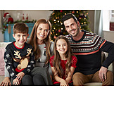 Christmas, Family portrait