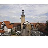 City wall, Marbach am neckar