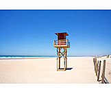 Lookout tower, Beach