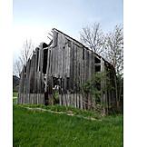 Wood barn