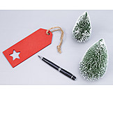 Copy space, Christmas, Label
