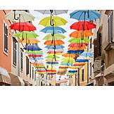 Novigrad, Umbrellas