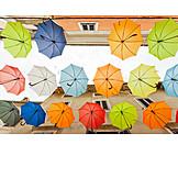 Multi colored, Hover, Parasols