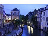 Blue hour, Utrecht
