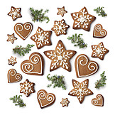 Gingerbread, Christmas cookies