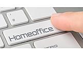 Computer Key, Homeoffice