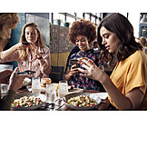 Eating, Photograph, Smart phone