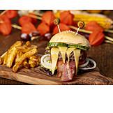Halloween, Cheeseburger, Monster