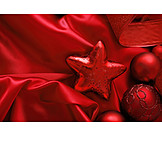 Red, Christmas decoration