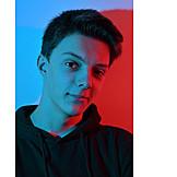 Portrait, Teenager, Modern