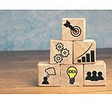 Business, Ziel, Idee, Strategie