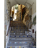 Staircase, Mosaic, Sciacca