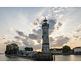 Lighthouse, Bodensee, Lindau