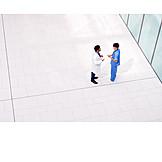Doctor, Meeting, Nurse