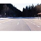 Austria, Tirol, National Border