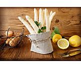 Asparagus, Bundles, White asparagus