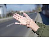 Infection Protection, Protective Glove, Corona Virus