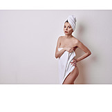 Body care, Toweling, Veiled