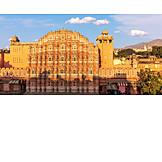 Rajasthan, Jaipur, Hawa mahal