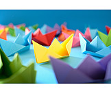 Paper boat, Origami
