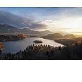 Lake, Bled lake