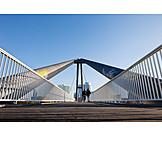 Düsseldorf heaven, Harbor bridge