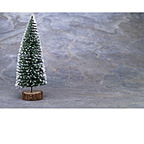 Artificial model, Christmas tree