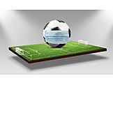 Soccer, Corona crisis