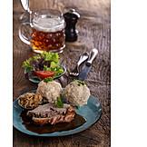 Meal, Homemade, Roast pork