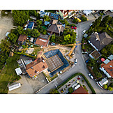 Construction site, Housing, Residential area