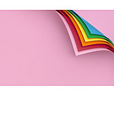 Colors, Colorful paper