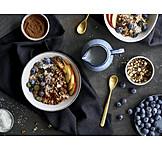 Breakfast, Porridge, Oatmeal