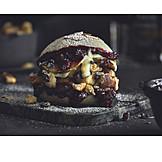 Fast food, Burger, Kaiserschmarrn