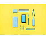 Hygiene, School supplies, Corona