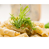 Pasta, Penne, Cheese Sauce