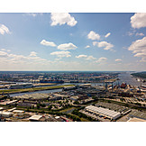 Hamburg, Container port