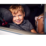 Child, Car Seat, Seat Belt