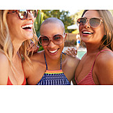 Summer, Sunglasses, Friends