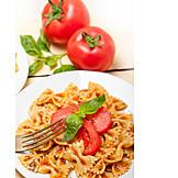 Pasta, Italian Cuisine, Farfalle, Lunch