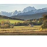 Morning mood, Berchtesgadener land, Alpine foreland