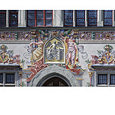 Mural, Old town hall
