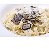 Parmesan, Tagliatelle, Truffle Mushroom, Pasta Dish