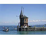 Constance, Harbor entrance