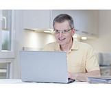 Laptop, Working, Homeoffice