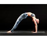 Yoga, Back bending, Flexibility