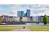 Düsseldorf, Rhine river, Rhine
