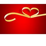 Heart, Ribbon
