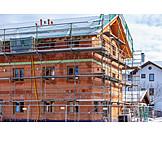 Building construction, Carcass, Scaffolding